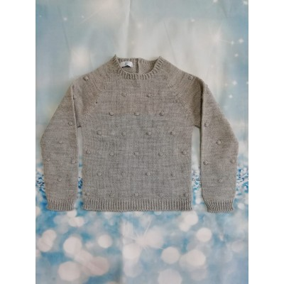 Jersey Bodoques lana Gris
