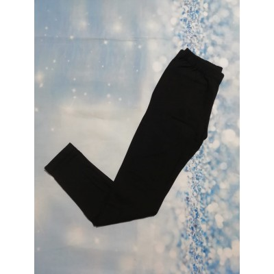 Leggings Negro Interior Afelpado