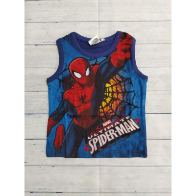 Camiseta Spiderman Azul