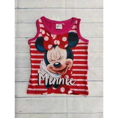 Camiseta Minnie niña rosa