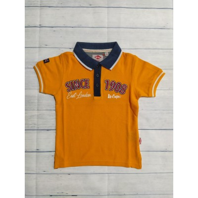 Polo naranja Lee Cooper