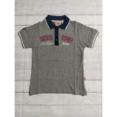 Polo gris Lee Cooper