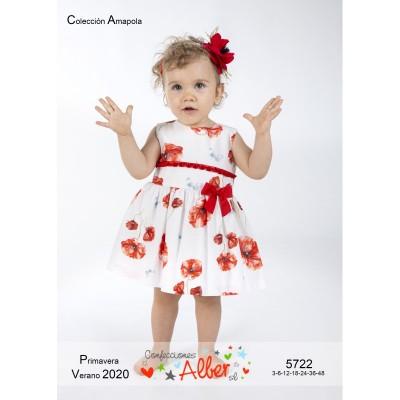 Vestido Amapolas Confecciones Alber