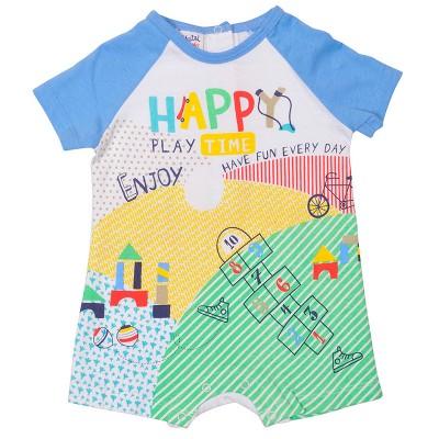 Pelele Manga Corta Happy Play Time