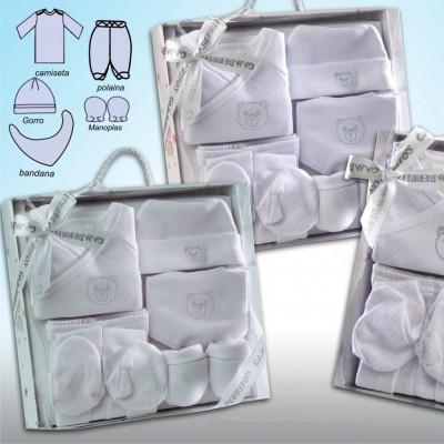 Pack de nacimiento 5 piezas Oso Topitos