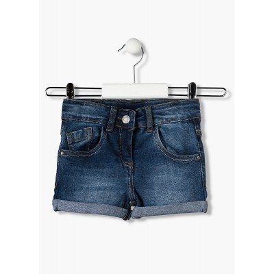 Short Niña Denim Medio Losan