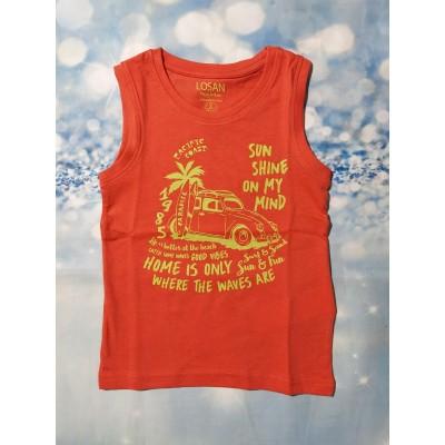 Camiseta Naranja Verano Losan