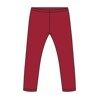Leggings Rojo Losan Interior Afelpado