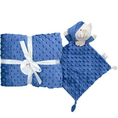 Set de Manta y Dou Dou Azul Marino